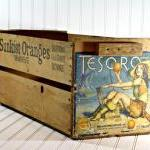 Vintage Wood Crate / Vintag..